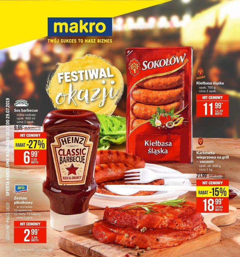Gazetka promocyjna MAKRO do 29/07/2019 str.1