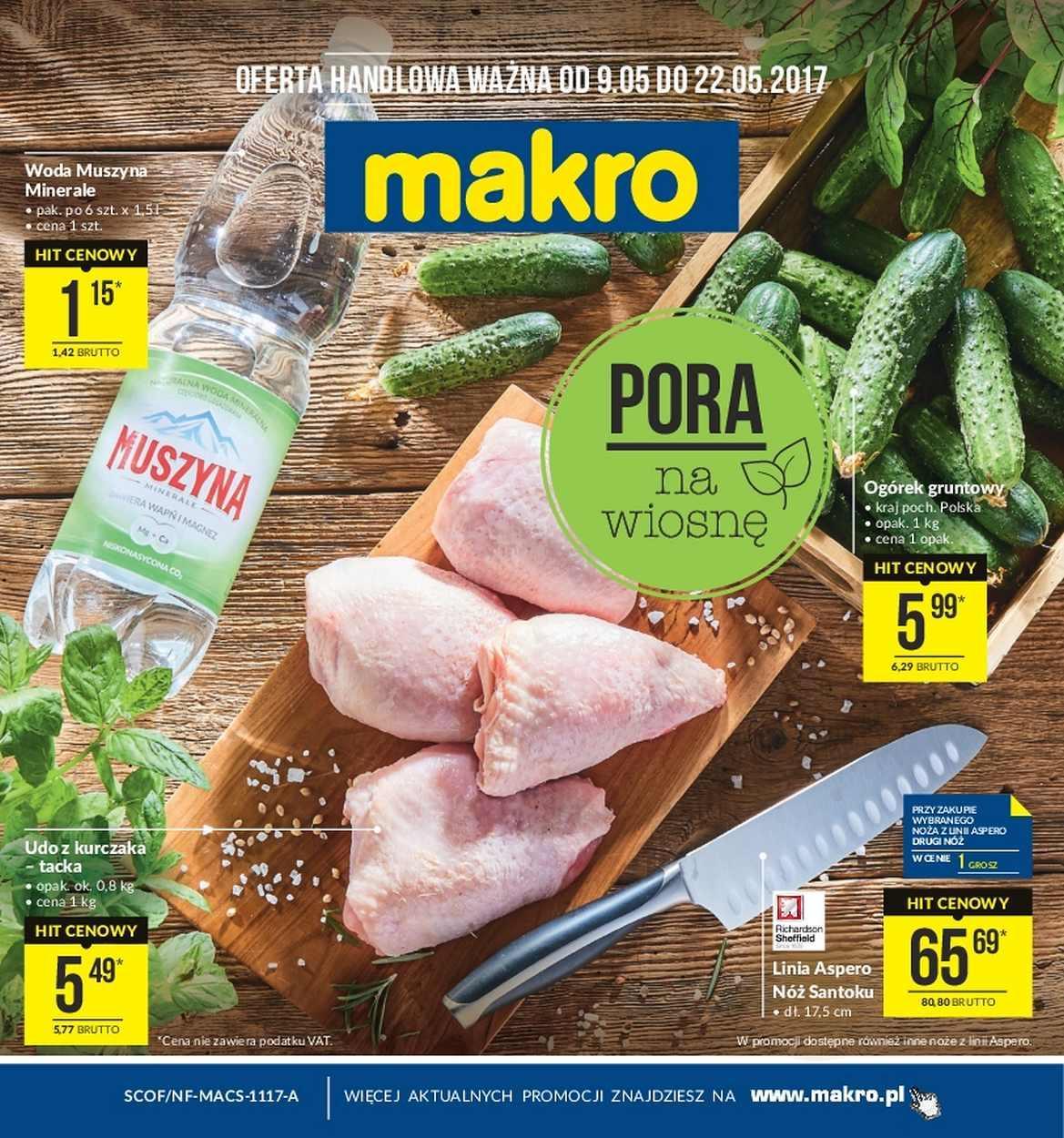 Gazetka promocyjna MAKRO do 22/05/2017 str.0