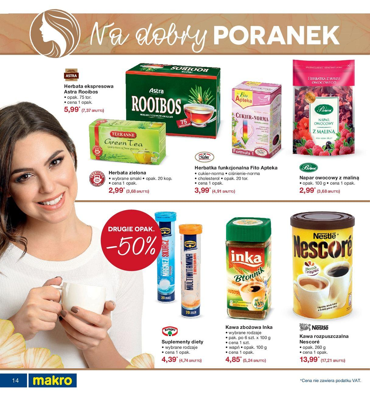 Gazetka promocyjna MAKRO do 24/09/2018 str.14