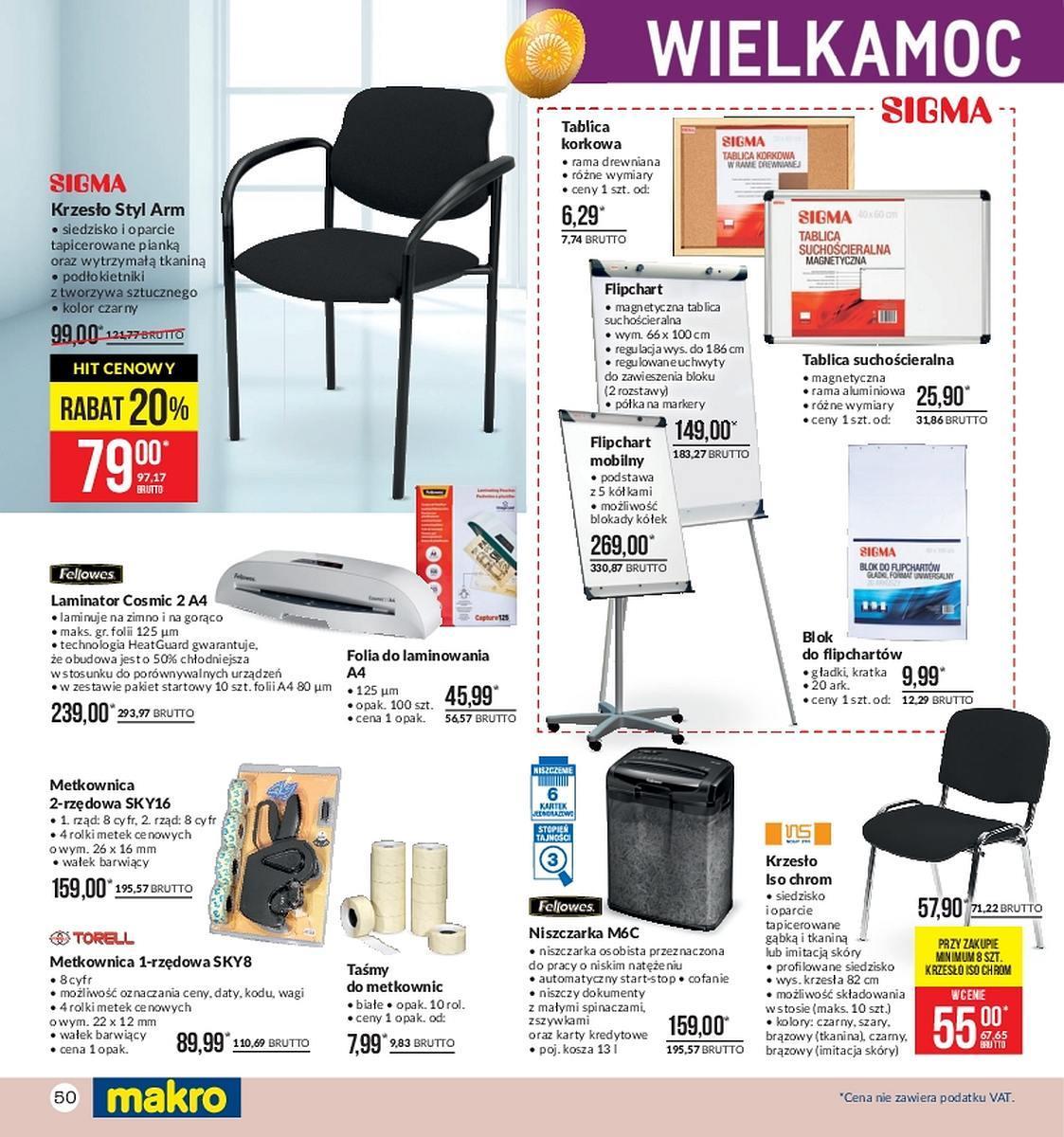Gazetka promocyjna MAKRO do 26/03/2018 str.49