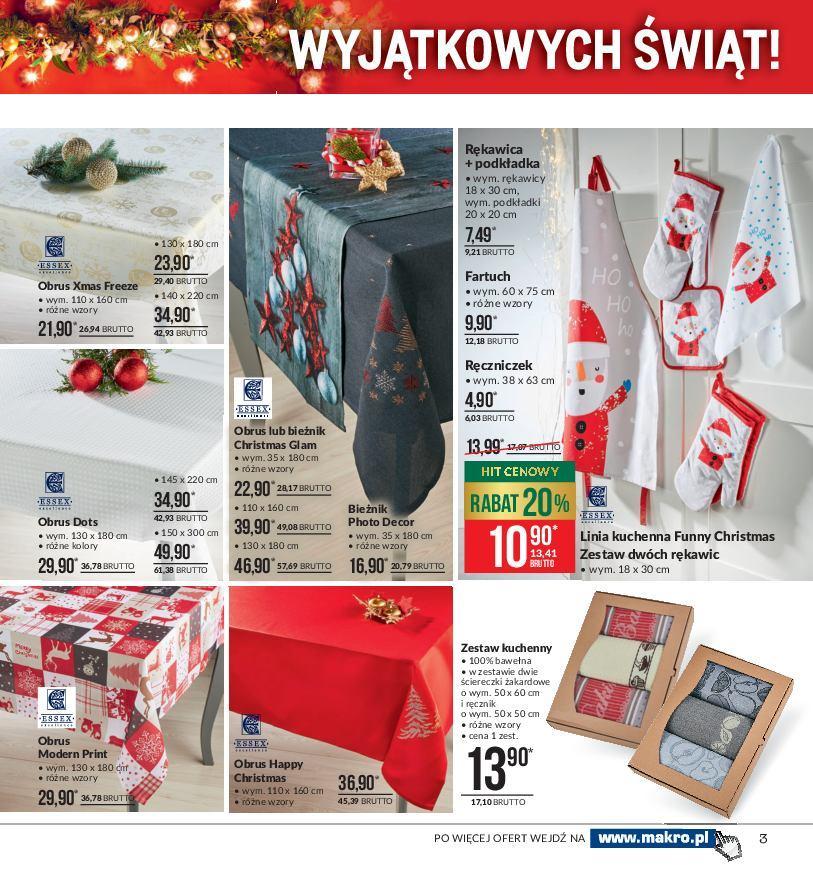 Gazetka promocyjna MAKRO do 24/12/2018 str.2