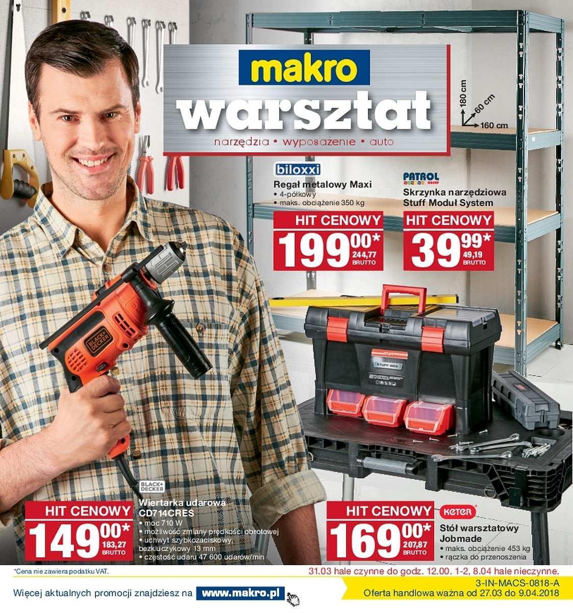 Gazetka promocyjna MAKRO do 09/04/2018 str.0