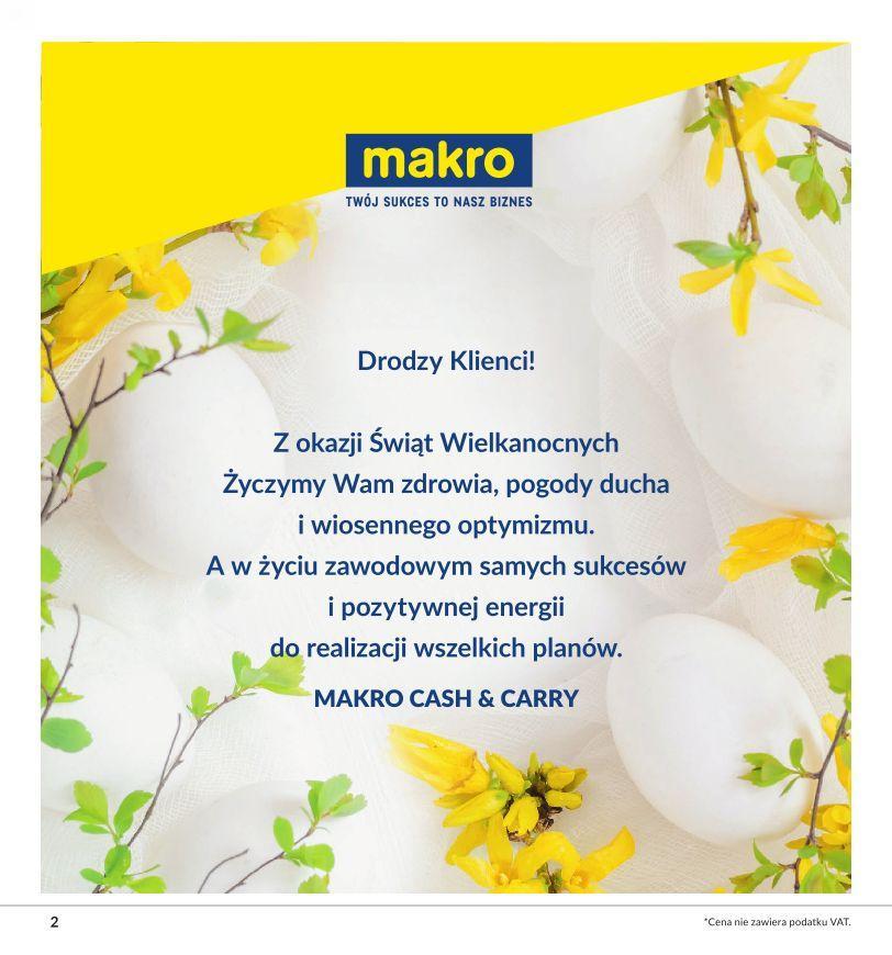 Gazetka promocyjna MAKRO do 13/04/2020 str.1