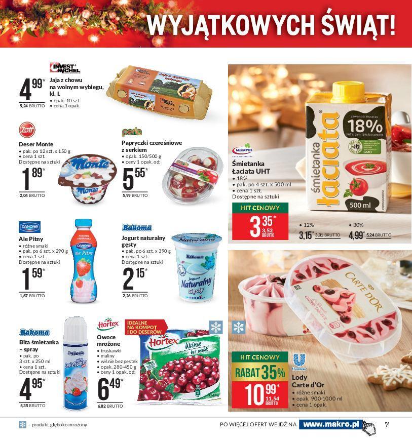Gazetka promocyjna MAKRO do 24/12/2018 str.7