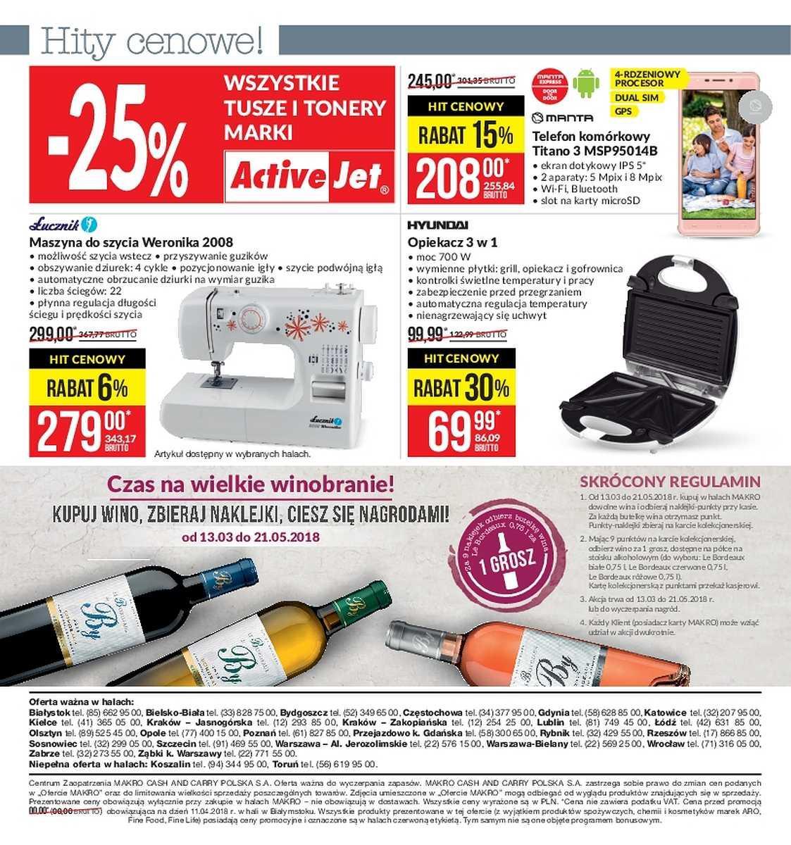 Gazetka promocyjna MAKRO do 09/04/2018 str.61