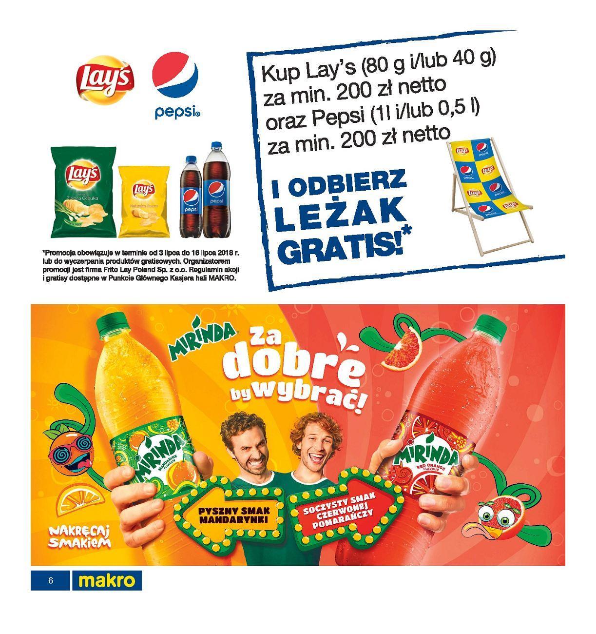 Gazetka promocyjna MAKRO do 16/07/2018 str.6