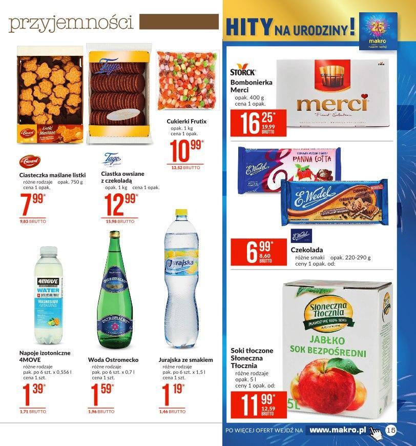 Gazetka promocyjna MAKRO do 29/07/2019 str.15