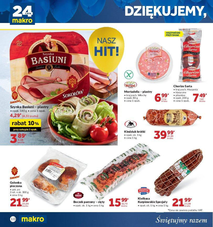 Gazetka promocyjna MAKRO do 22/10/2018 str.9