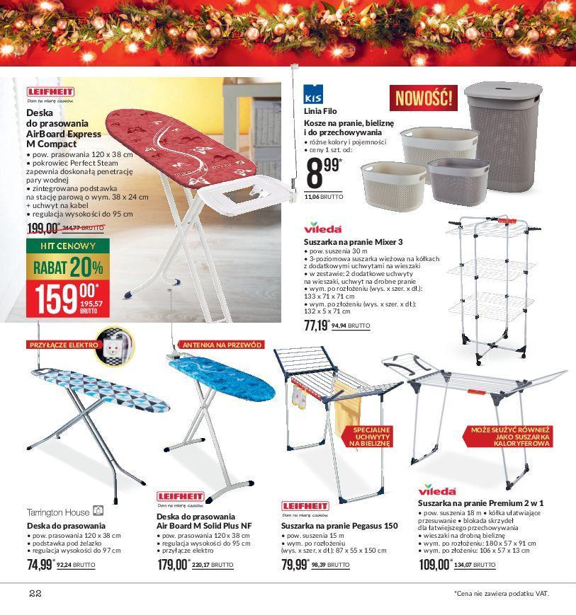 Gazetka promocyjna MAKRO do 24/12/2018 str.22