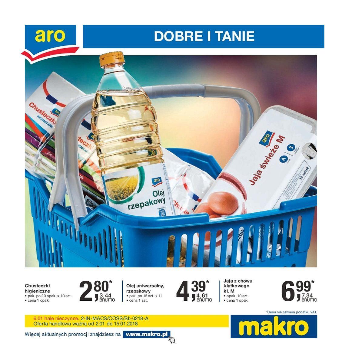 Gazetka promocyjna MAKRO do 15/01/2018 str.0
