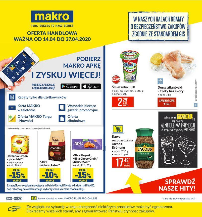 Gazetka promocyjna MAKRO do 27/04/2020 str.0