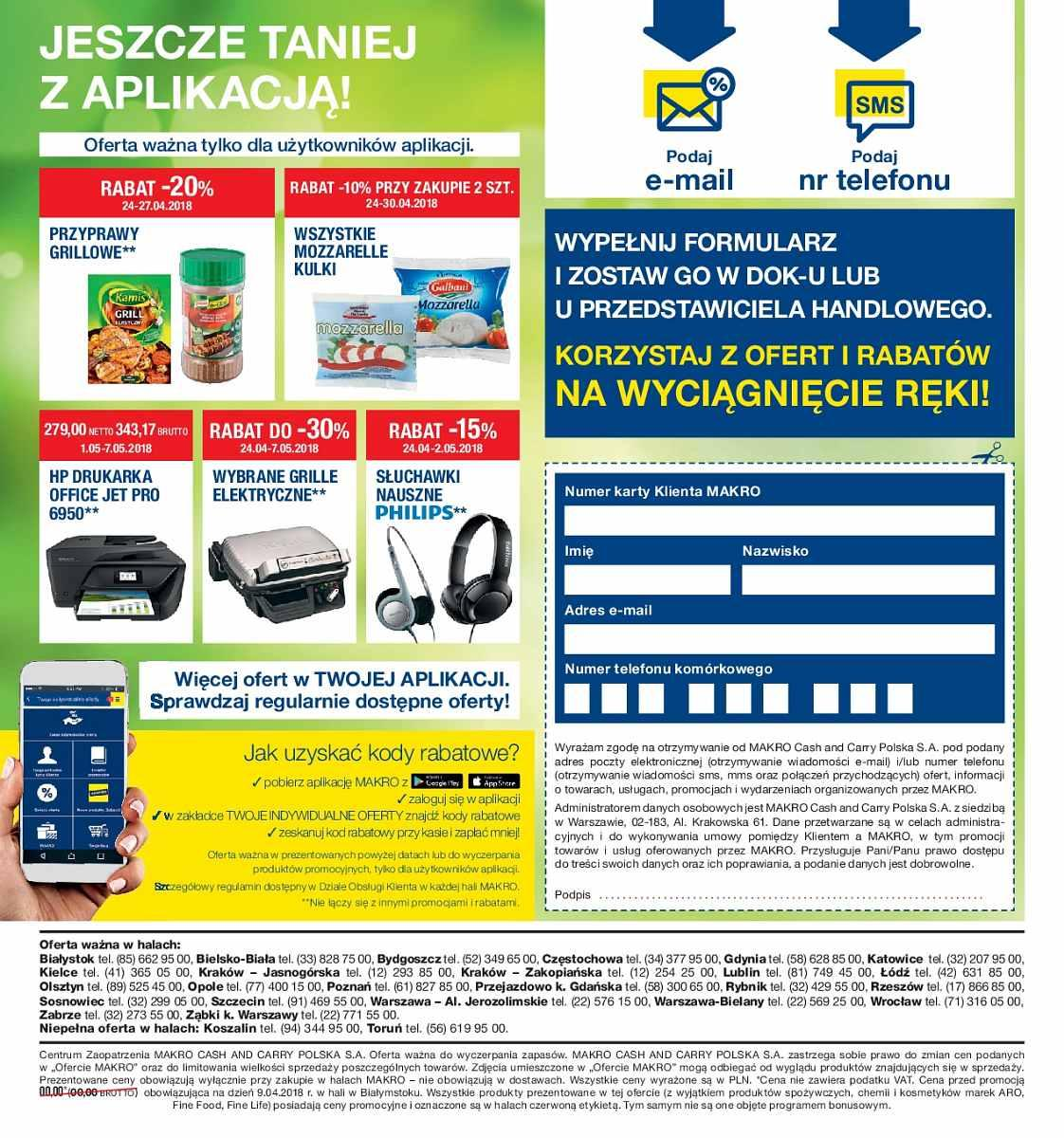 Gazetka promocyjna MAKRO do 07/05/2018 str.1