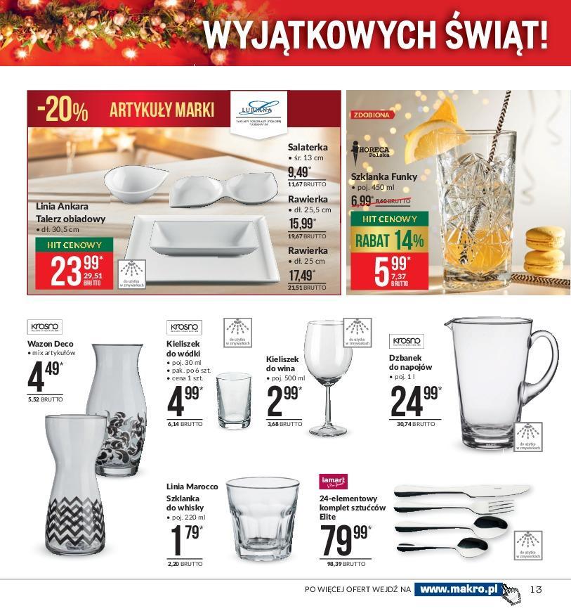Gazetka promocyjna MAKRO do 31/12/2018 str.12