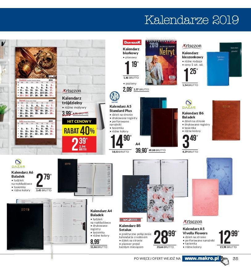 Gazetka promocyjna MAKRO do 19/11/2018 str.35