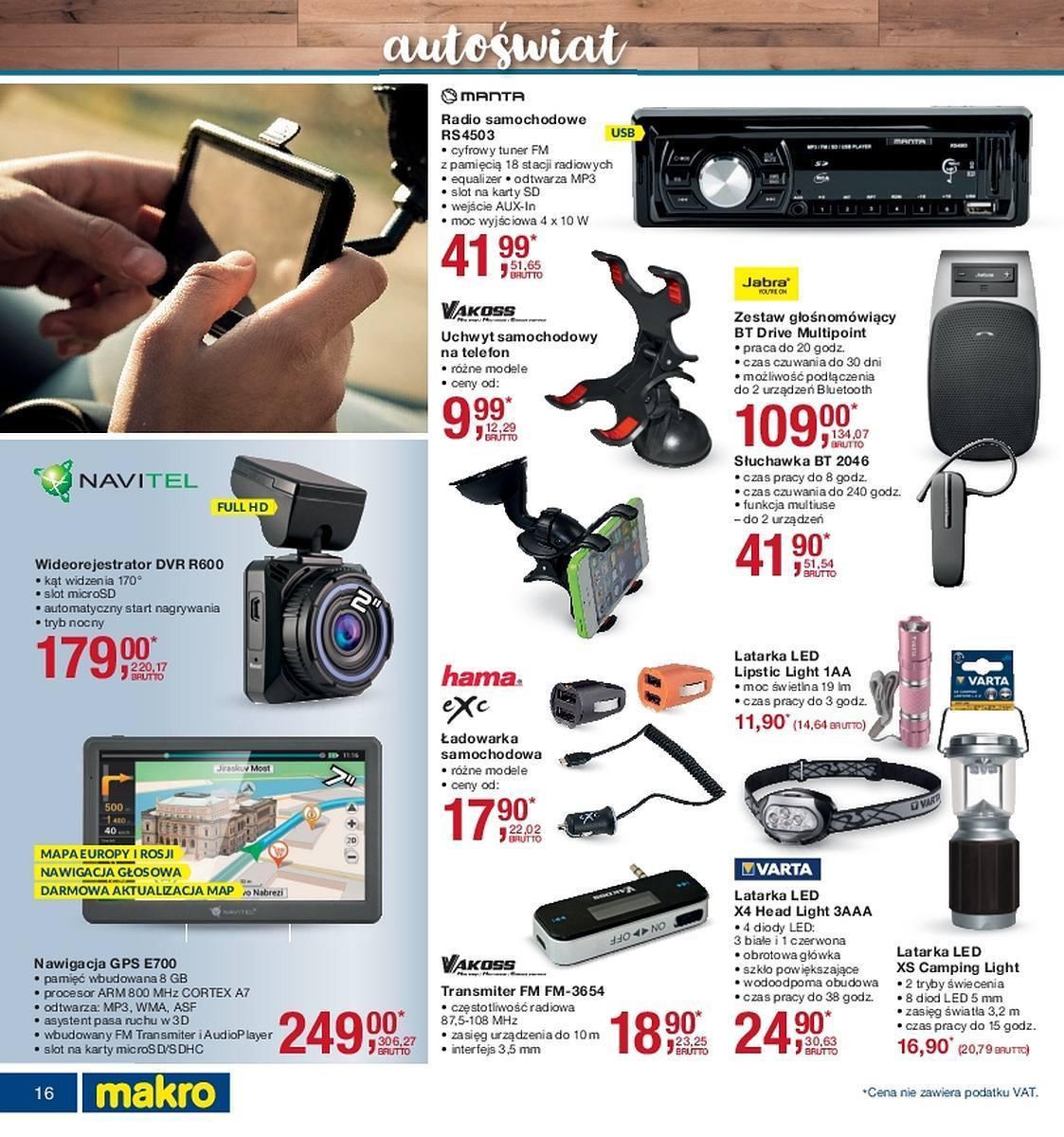 Gazetka promocyjna i reklamowa MAKRO, Katalog elektro, od
