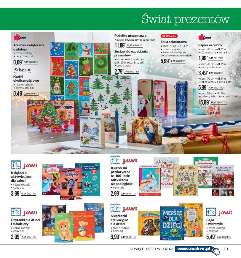 Gazetka promocyjna MAKRO do 19/11/2018 str.11
