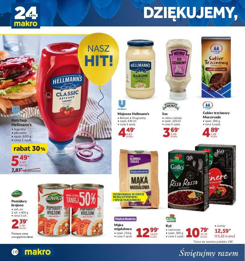 Gazetka promocyjna MAKRO do 22/10/2018 str.16