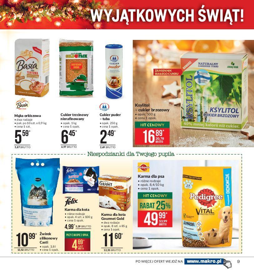 Gazetka promocyjna MAKRO do 24/12/2018 str.9