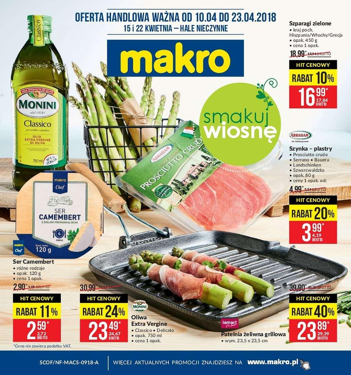 Gazetka promocyjna MAKRO do 23/04/2018 str.0