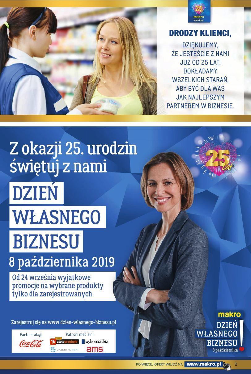 Gazetka promocyjna MAKRO do 09/09/2019 str.3