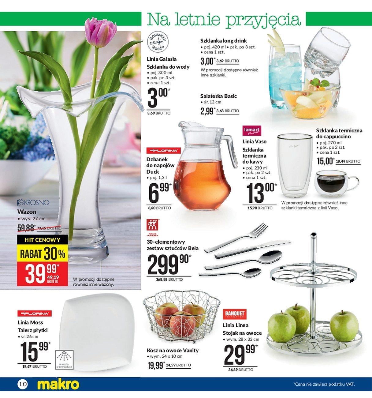 Gazetka promocyjna MAKRO do 21/05/2018 str.9