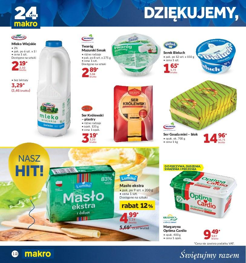 Gazetka promocyjna MAKRO do 22/10/2018 str.12