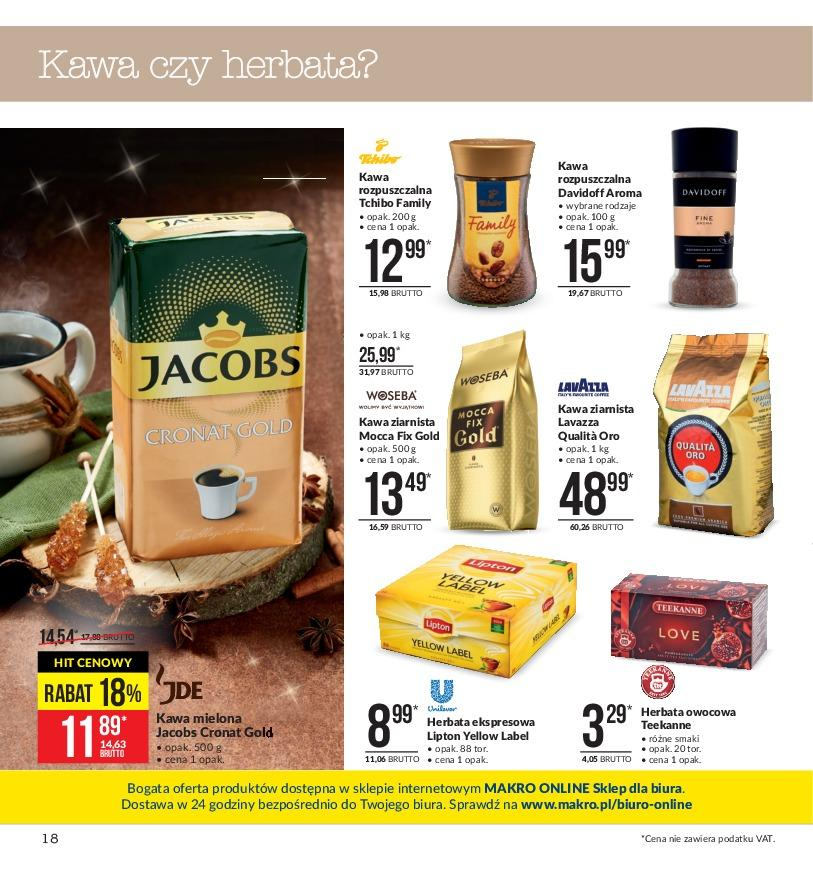 Gazetka promocyjna MAKRO do 19/11/2018 str.17