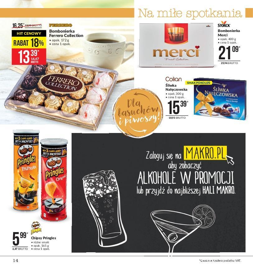 Gazetka promocyjna MAKRO do 14/01/2019 str.14