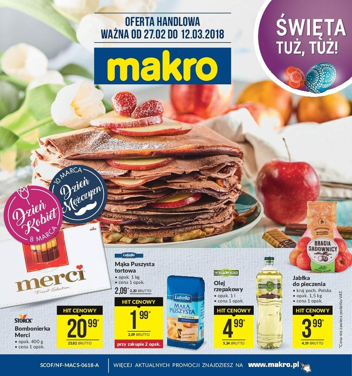 Gazetka promocyjna MAKRO do 12/03/2018 str.0