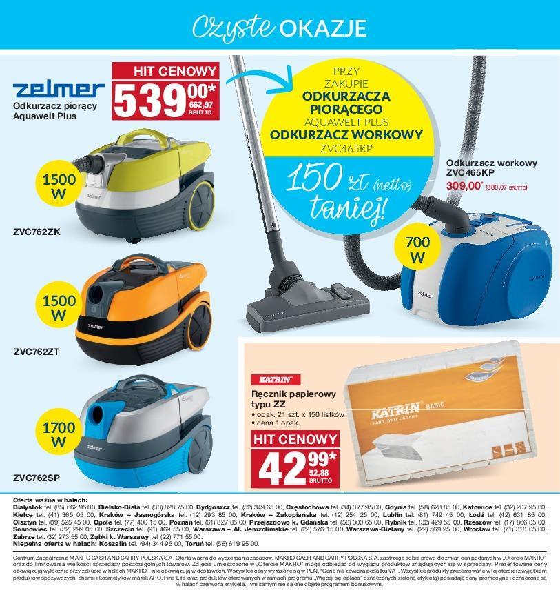 Gazetka promocyjna MAKRO do 05/11/2018 str.23