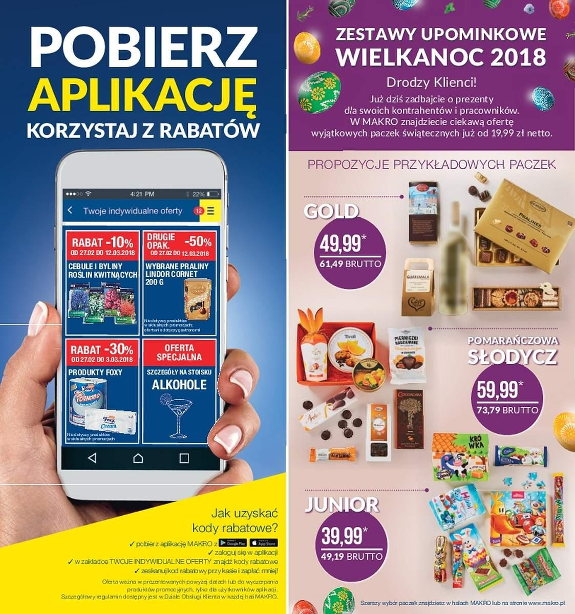 Gazetka promocyjna MAKRO do 12/03/2018 str.1