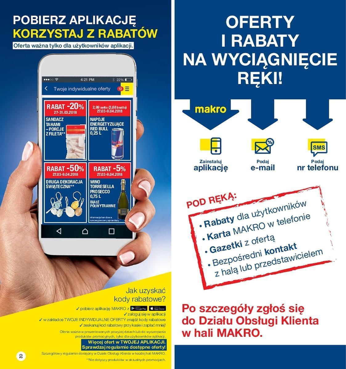 Gazetka promocyjna MAKRO do 09/04/2018 str.1