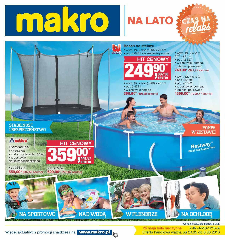 Gazetka promocyjna MAKRO do 06/06/2016 str.0