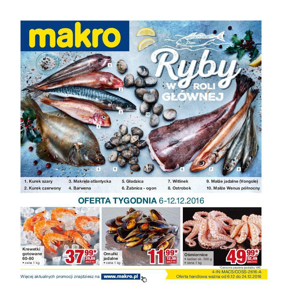 Gazetka promocyjna MAKRO do 24/12/2016 str.0
