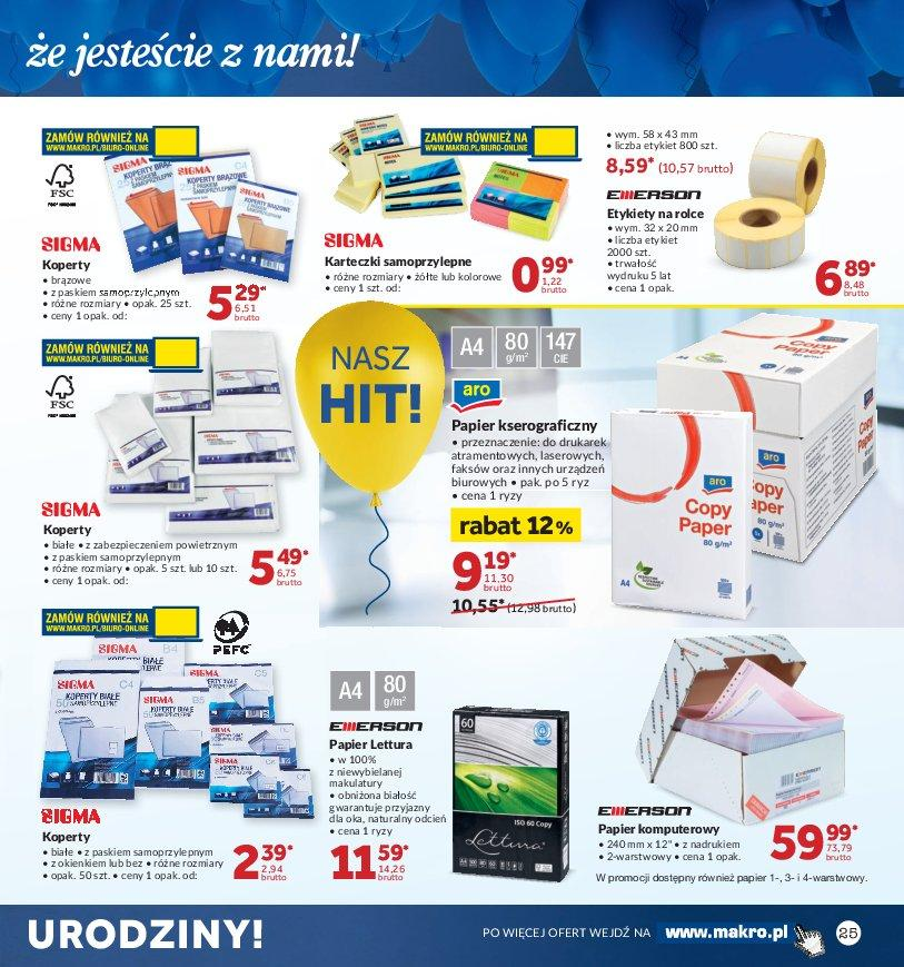 Gazetka promocyjna MAKRO do 22/10/2018 str.25