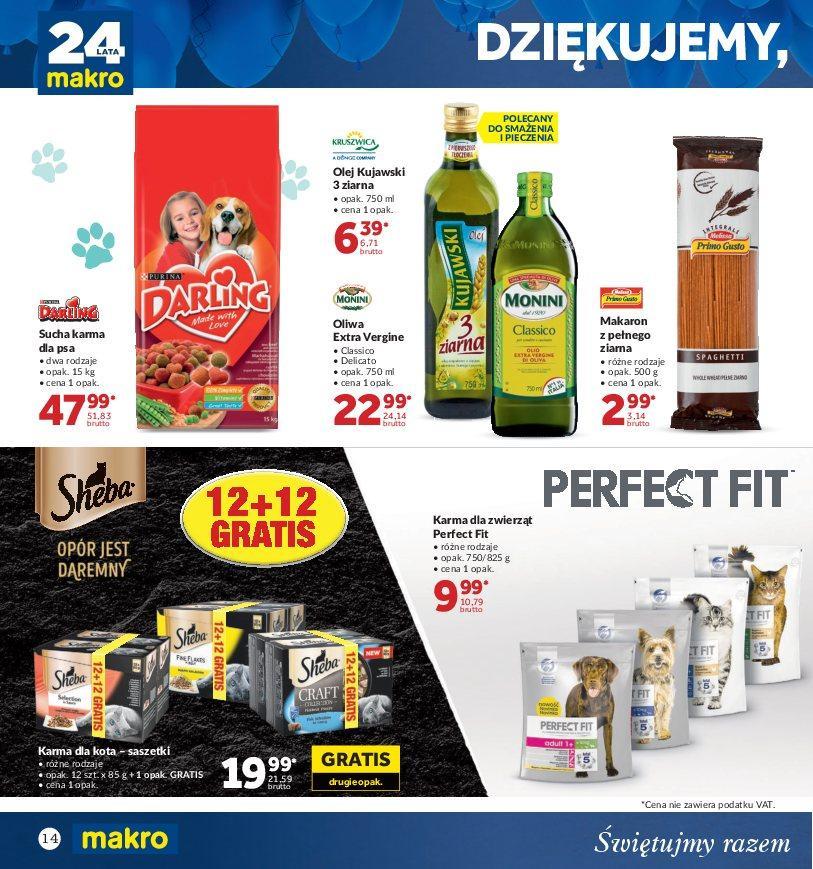 Gazetka promocyjna MAKRO do 22/10/2018 str.14