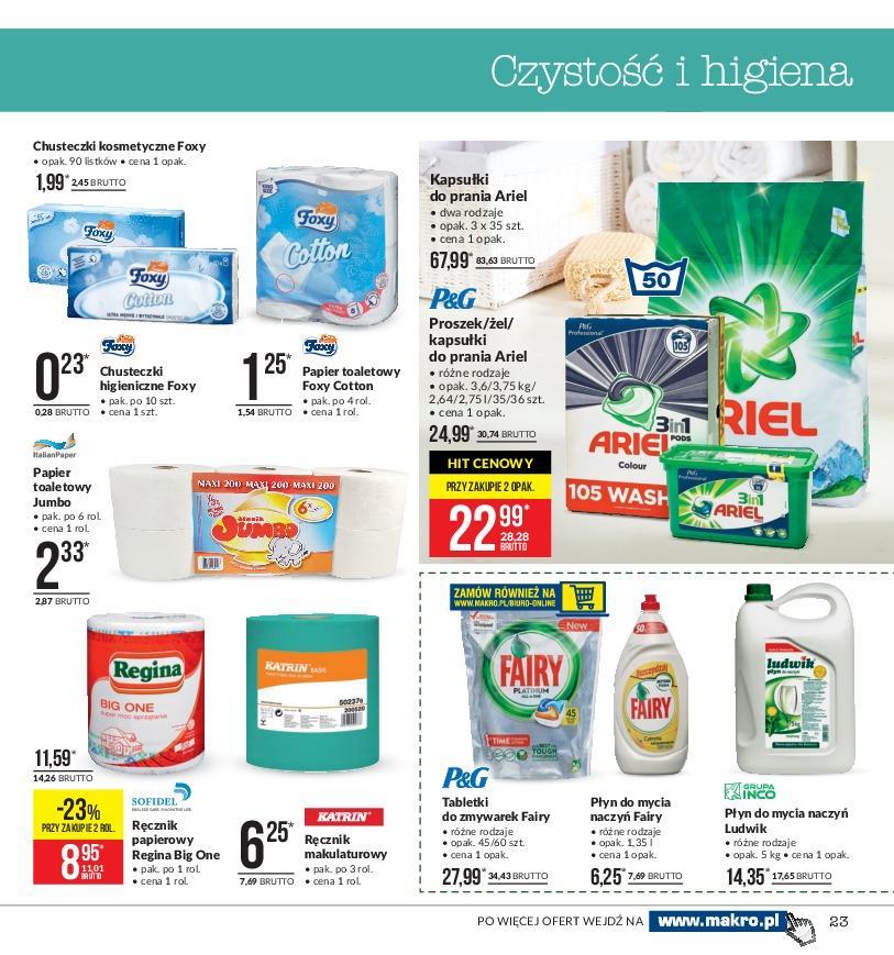 Gazetka promocyjna MAKRO do 19/11/2018 str.23