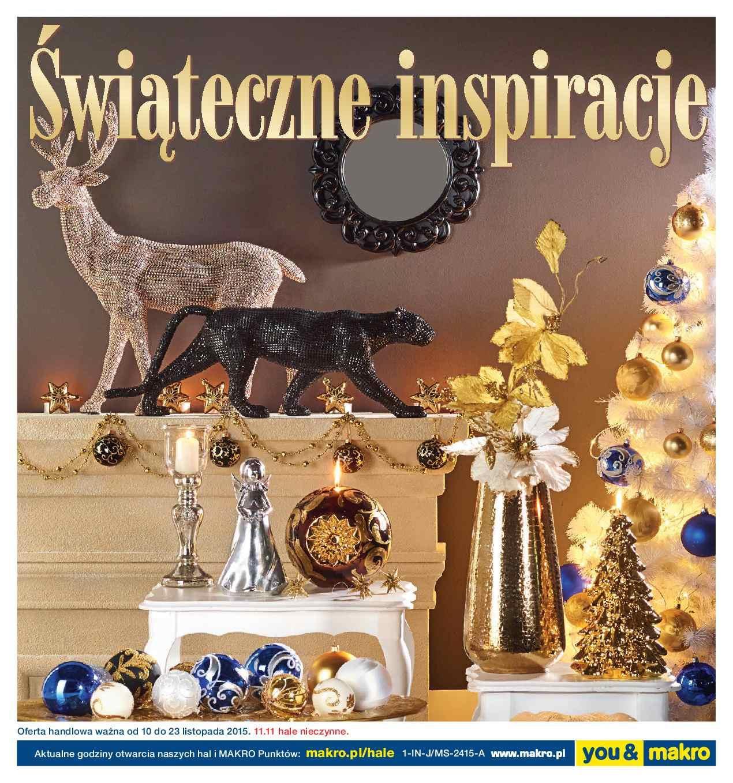 Gazetka promocyjna MAKRO do 23/11/2015 str.0