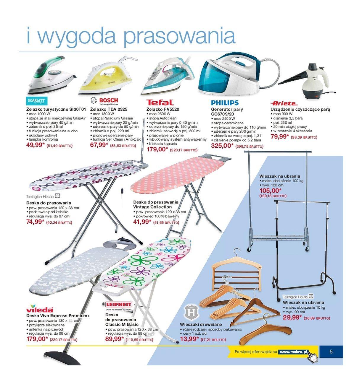 Gazetka promocyjna MAKRO do 21/05/2018 str.5