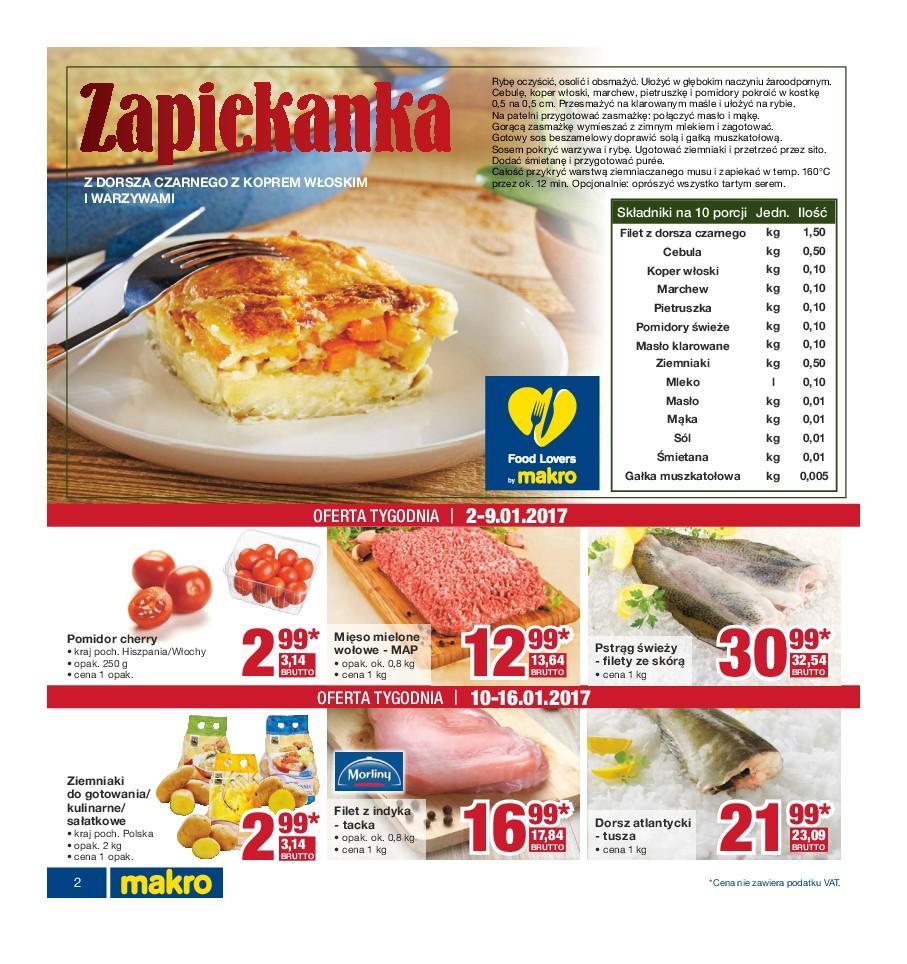 Gazetka promocyjna MAKRO do 16/01/2017 str.1