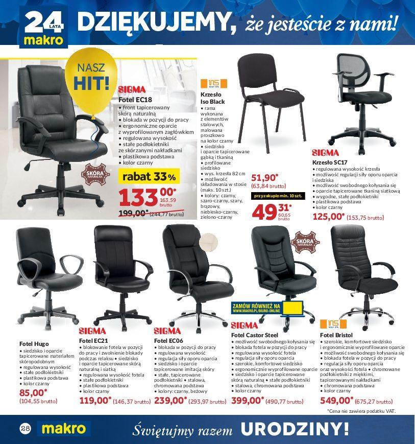 Gazetka promocyjna MAKRO do 22/10/2018 str.27