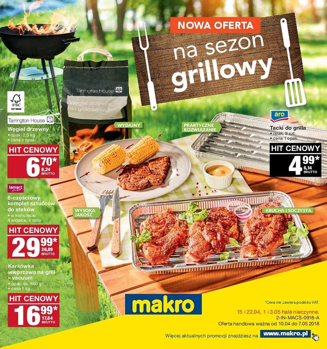 Gazetka promocyjna MAKRO do 07/05/2018 str.0