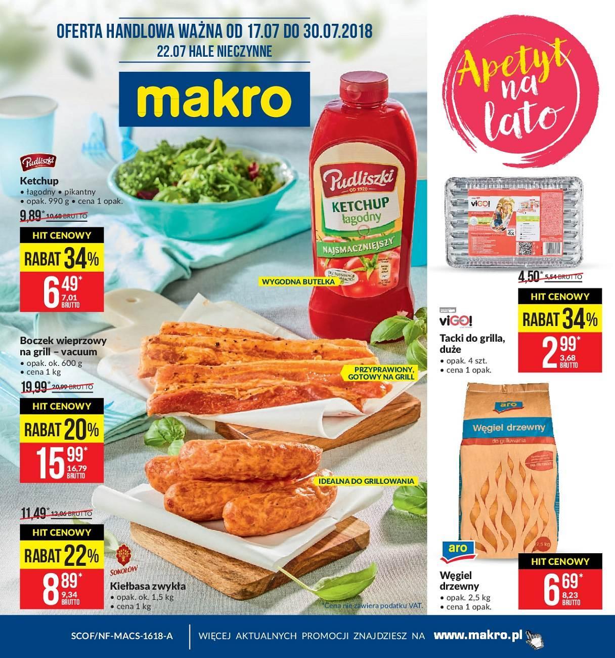 Gazetka promocyjna MAKRO do 30/07/2018 str.0