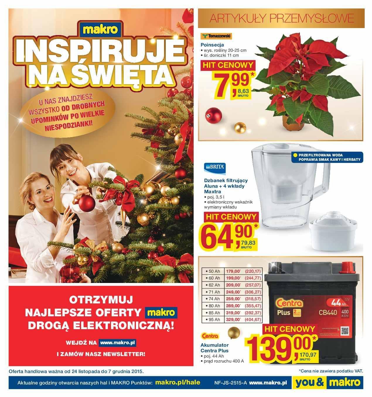 Gazetka promocyjna MAKRO do 07/12/2015 str.0