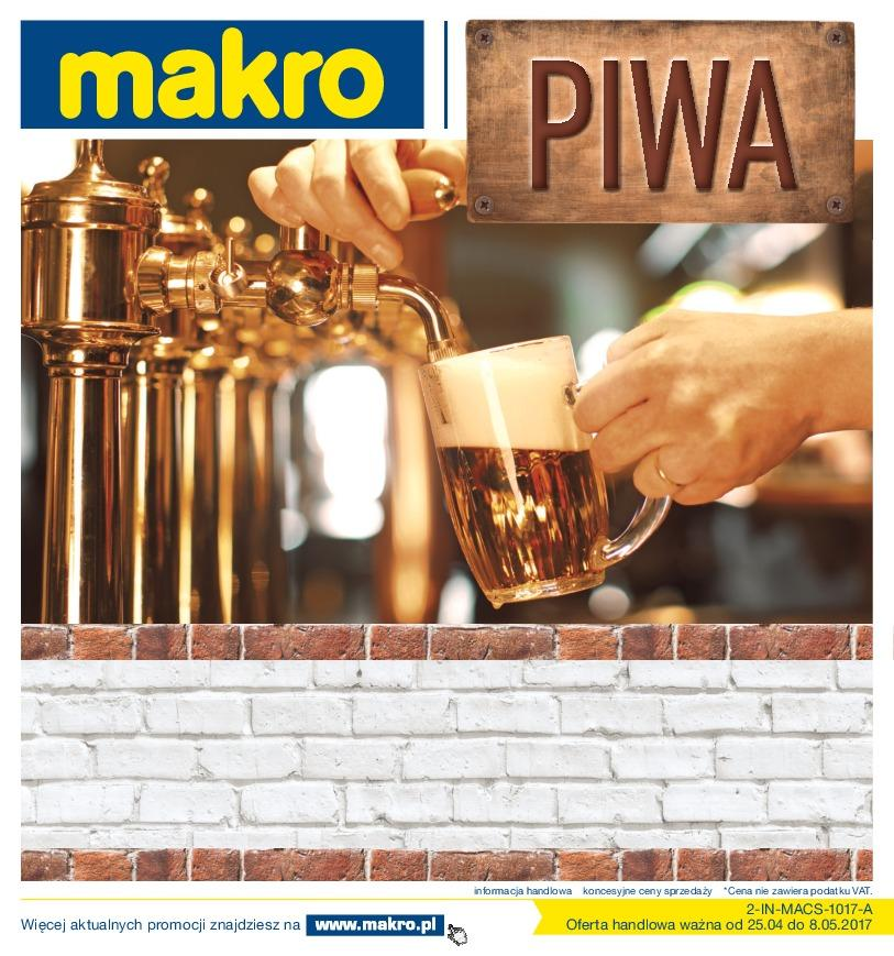Gazetka promocyjna MAKRO do 08/05/2017 str.0