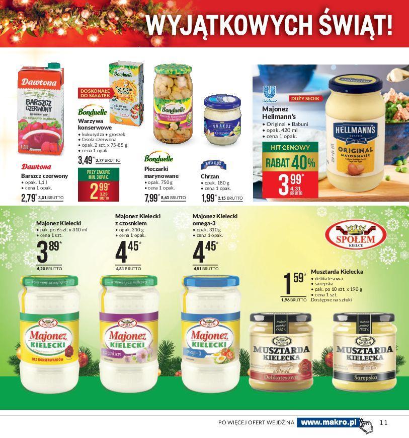 Gazetka promocyjna MAKRO do 24/12/2018 str.11