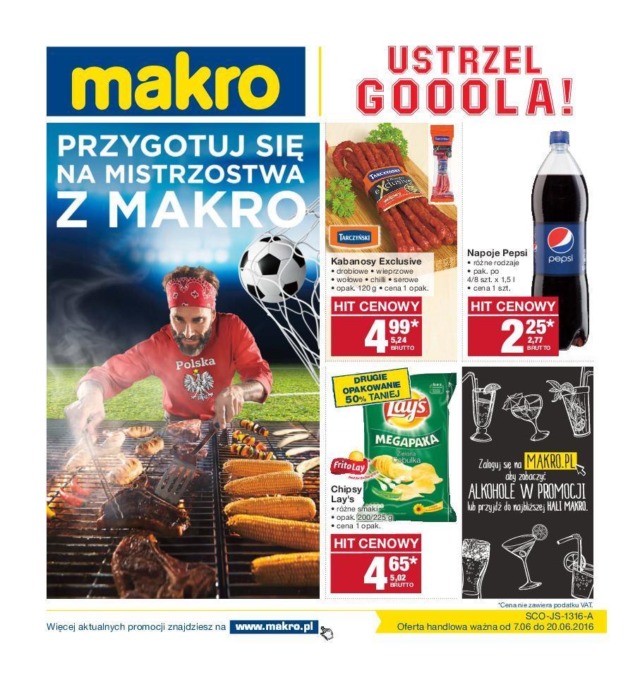 Gazetka promocyjna MAKRO do 20/06/2016 str.0