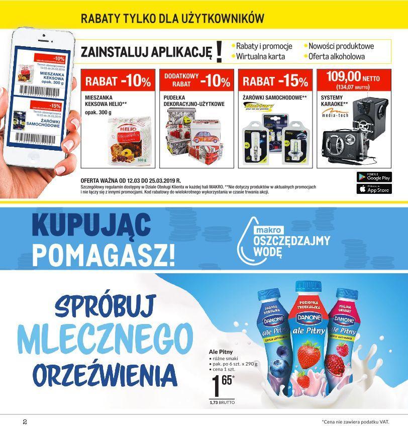 Gazetka promocyjna MAKRO do 25/03/2019 str.1