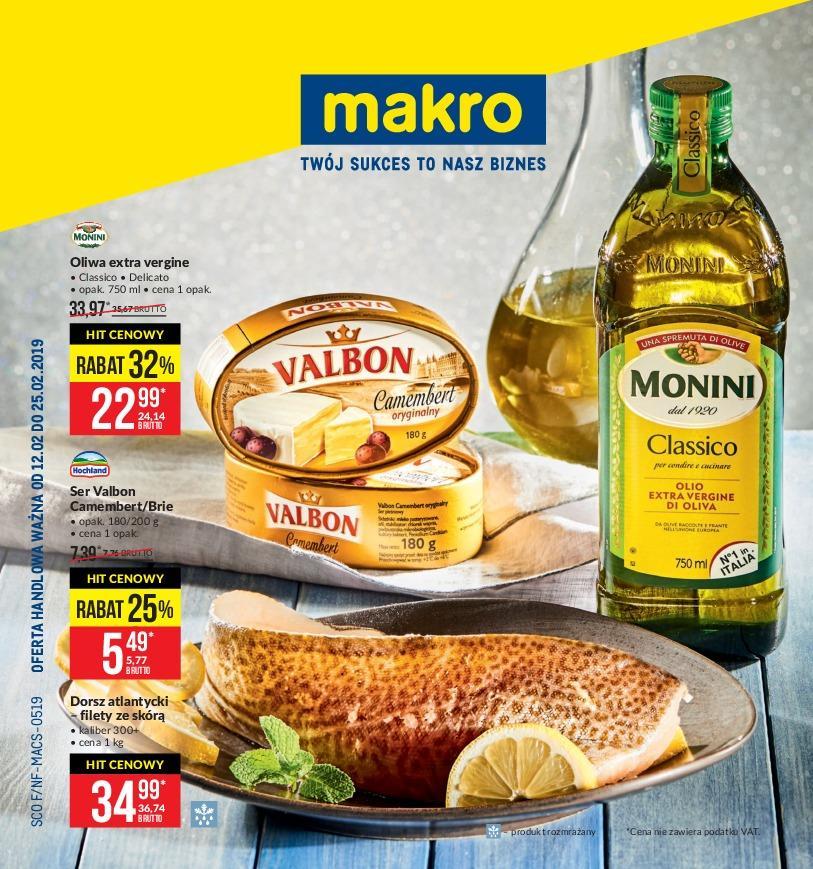 Gazetka promocyjna MAKRO do 25/02/2019 str.0