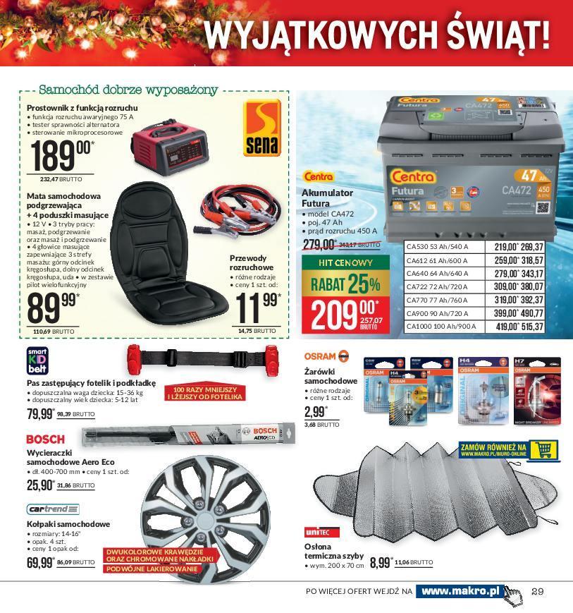 Gazetka promocyjna MAKRO do 24/12/2018 str.29